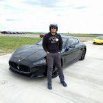 Amir Sadeghian at Race Track in Cresson Texas
