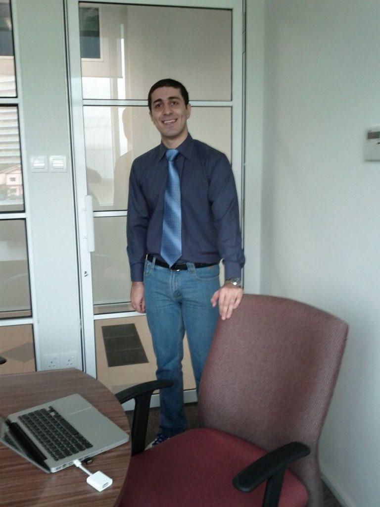 Amir Sadeghian at Universiti Teknologi Malaysia