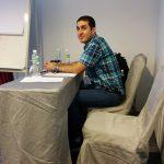 Amir Sadeghian – Chairman of presentation session at I4CT 2014 Conference. Langkawi, Malaysia