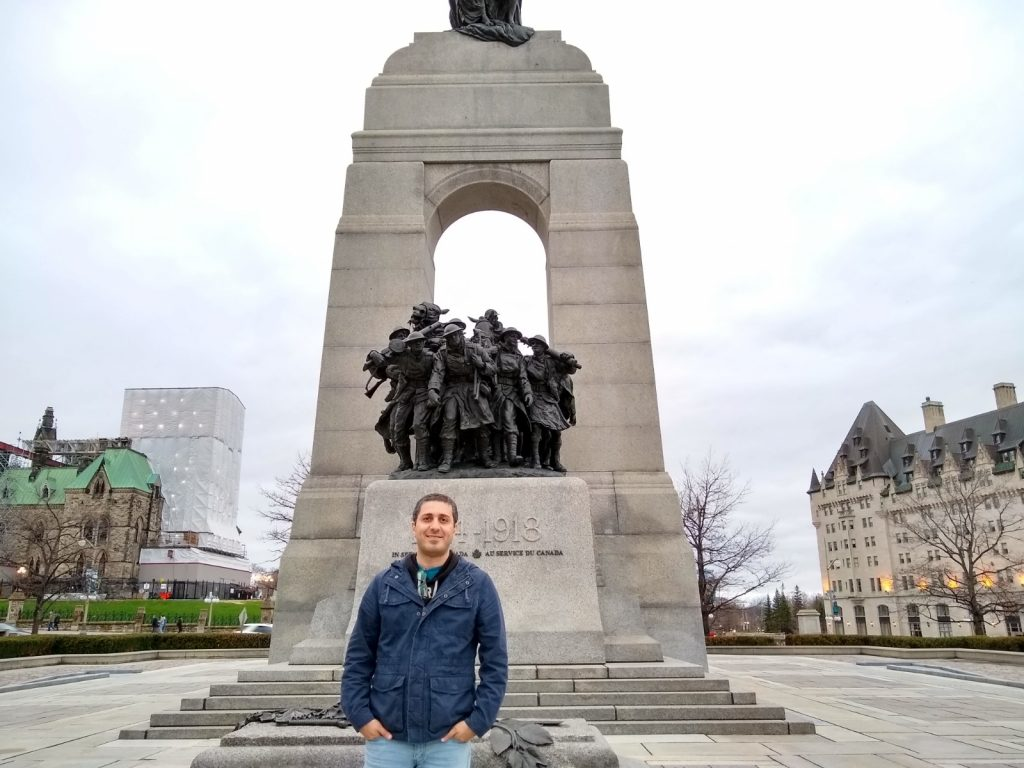 The National War Memorial, Ottawa, Canada